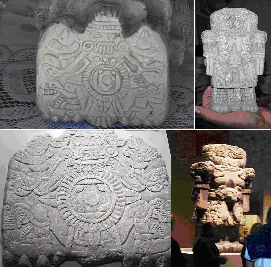 Copias (arriba) y originales (abajo)